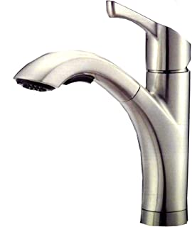 Amazon Com Waterridge Brushed Nickel Finish Kitchen Faucet By Water