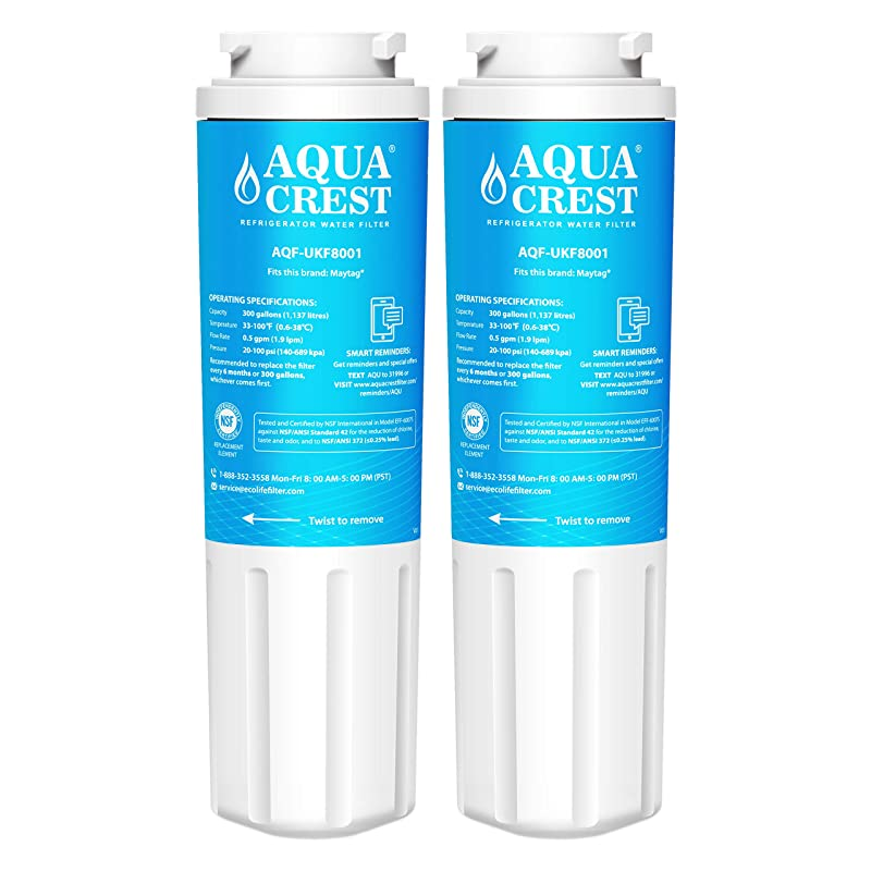 Details about Refrigerator water filter Replacement KitchenAid KFXS25RYMS1  (2 Pack)