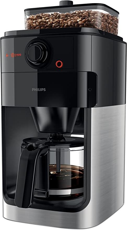 Philips Grind & Brew HD7761/01 - Cafetera (Independiente, Cafetera ...