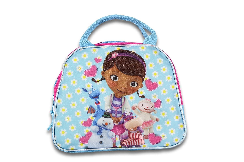 34a68e55248 Amazon.com   Disney s Doc McStuffins Insulated Lunchbox - Fashionable Lunch  Handbag - Pink Doc McStuffins Soft Lunch Bag   Baby