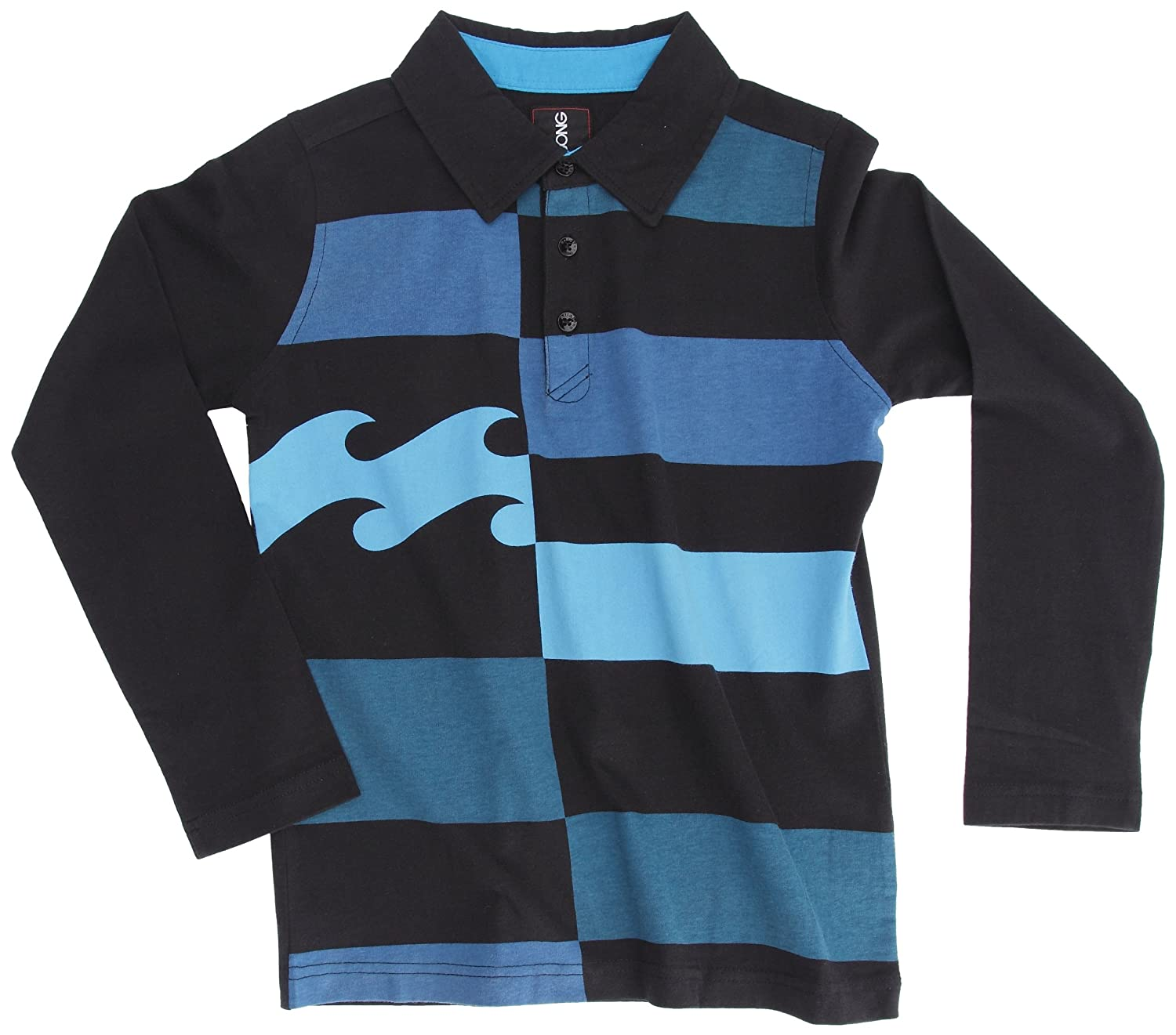 BILLABONG Checky-Polo para niño Negro Negro Talla:16 años: Amazon ...