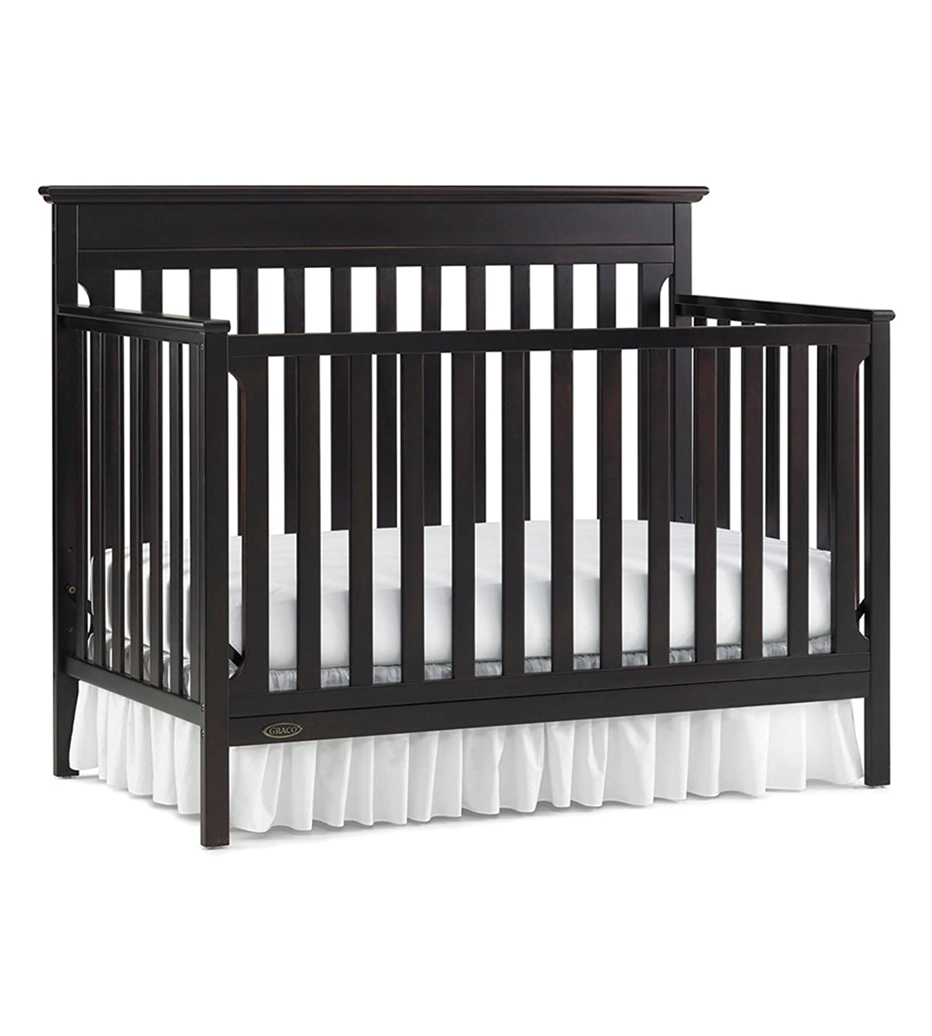 maddox convertible cribs baby gracomaddoxcrib by zone products graco in safety powered crib