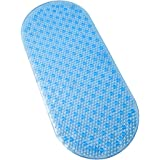 Tushies & Toes Tranquility Bath Mat, Long, Blue