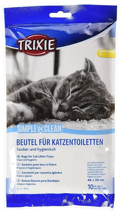 Trixie 10 Bolsas para Band. higiénica Gatos,hasta 46x59cm: Amazon.es: Productos para mascotas