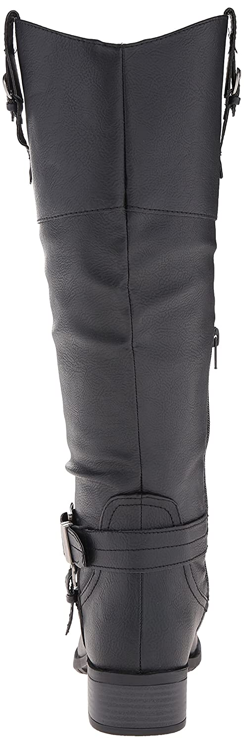 7264ed0284ed ... Rampage Women s Ivelia Fashion Knee High Casual Riding Riding Riding  Boot (Available In Wide Calf ...