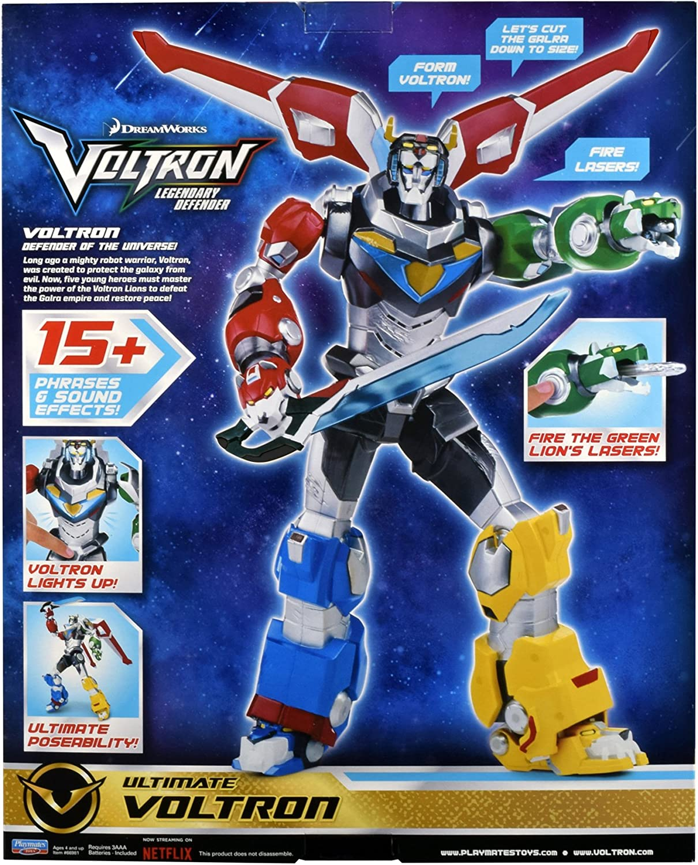 "Dreamworks Voltron Legendary Defender 5.5/"" Action Figure Black Lion Toy Play New"