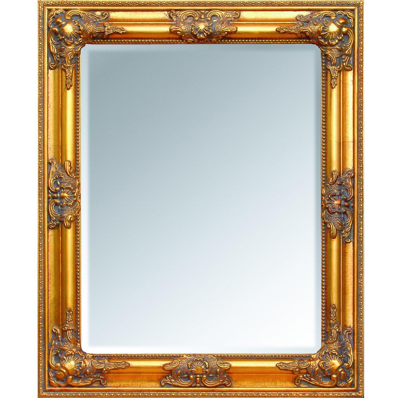 Hochwertiger Exclusiver Wandspiegel im Barockstil Gold 62x52x7cm mit ...