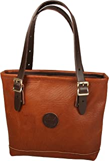 product image for Duluth Pack Lakewalk Bison Tote (Bison/Brown Leather trim)