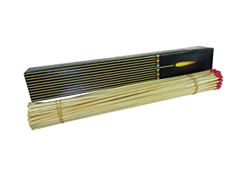 1 x 50 unidades XXL máxima de barbacoa y chimenea Cerillas, 28 cm, Rojas