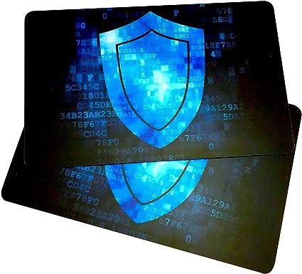 Amazon.com: 2Tarjetas de bloqueo RFID de RMS Unlimited ...