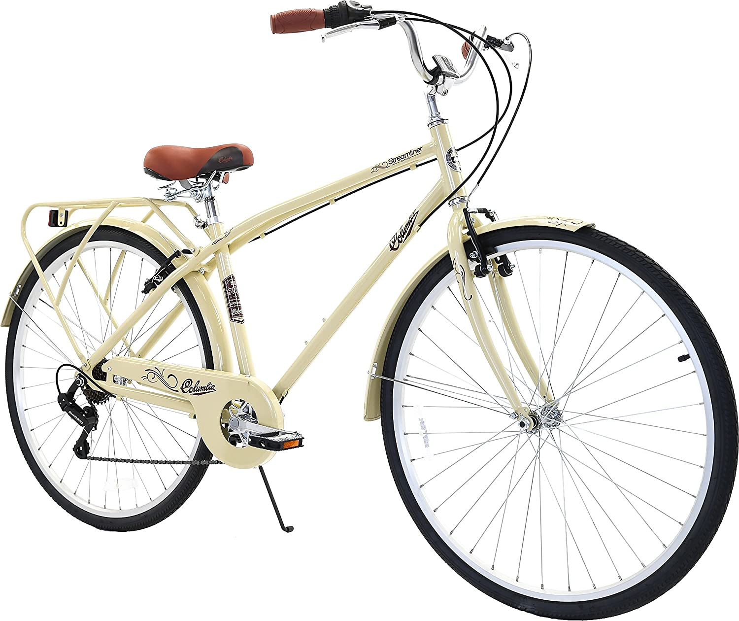 Columbia Bicycles Streamliner 700c Men s 7-Speed City Cruiser Bike