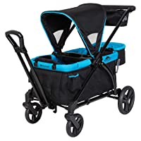 Baby Trend Expedition 2-in-1 Stroller Wagon PLUS, Ultra Marine