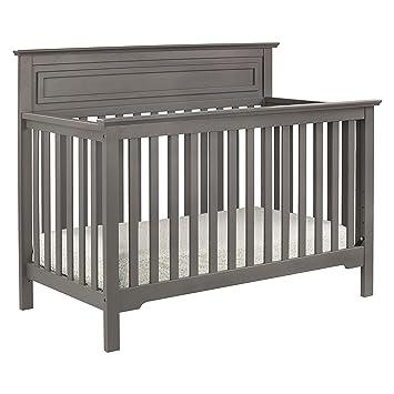 Full Size Conversion Kit Bed Rails for Davinci Autumn 4-in-1 Crib Slate