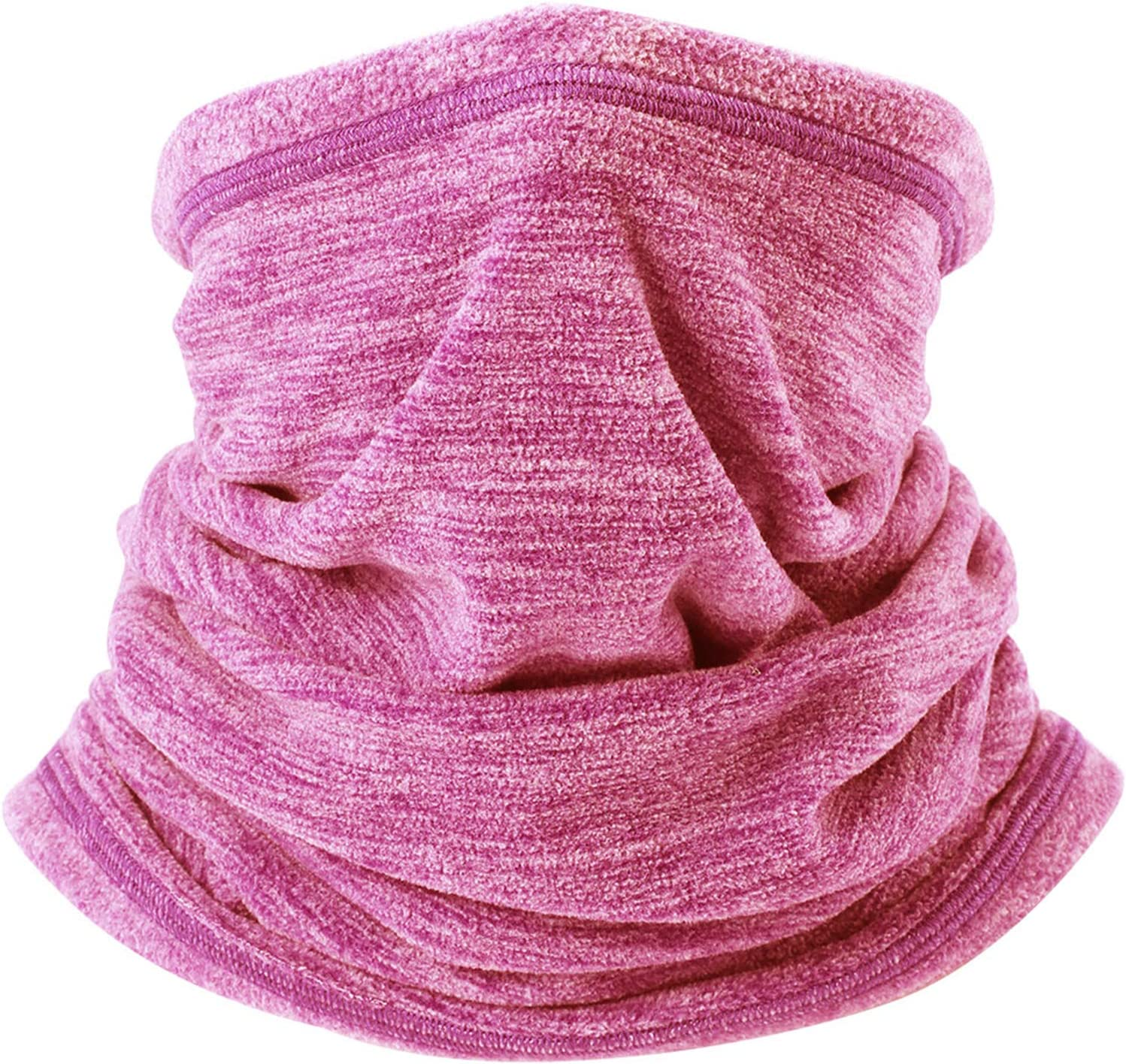 YOSUNPING Soft Fleece Neck Warmer Gaiter Face Mask Thermal Cover for Cold Weather