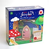 Magical Irish Fairy Door. The Irish Fairy Door Company, Pink Arched. Handcrafted and Decorated in Ireland. Unlock a World of Imagination.