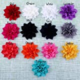 Pack of 20PCS Mixed Colors Flat-bottomed