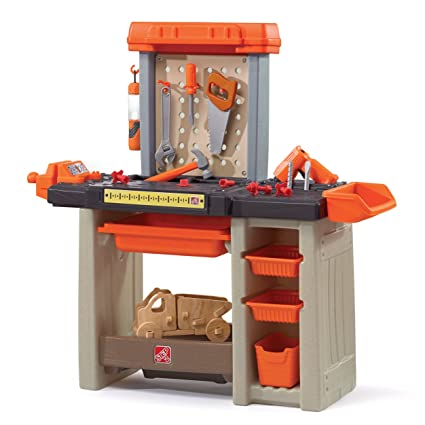 Marvelous Step2 Handyman Workbench Kids Tool Bench Orange Frankydiablos Diy Chair Ideas Frankydiabloscom