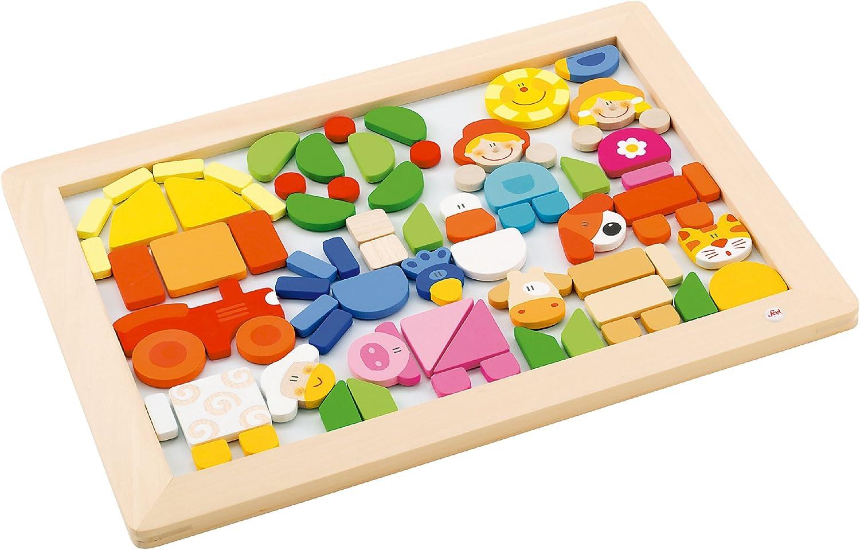 Sevi - Puzzle magnético Granja (Trudi 82078): Amazon.es: Juguetes y juegos