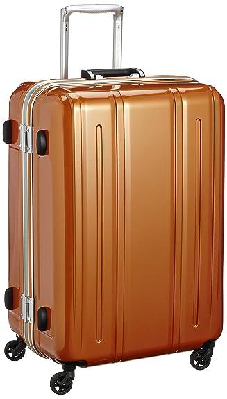 9f6b33c22b Amazon | [エバウィン] 軽量スーツケース Be Light 静音キャスター 82L 69 cm 4.2kg オレンジ | スーツケース