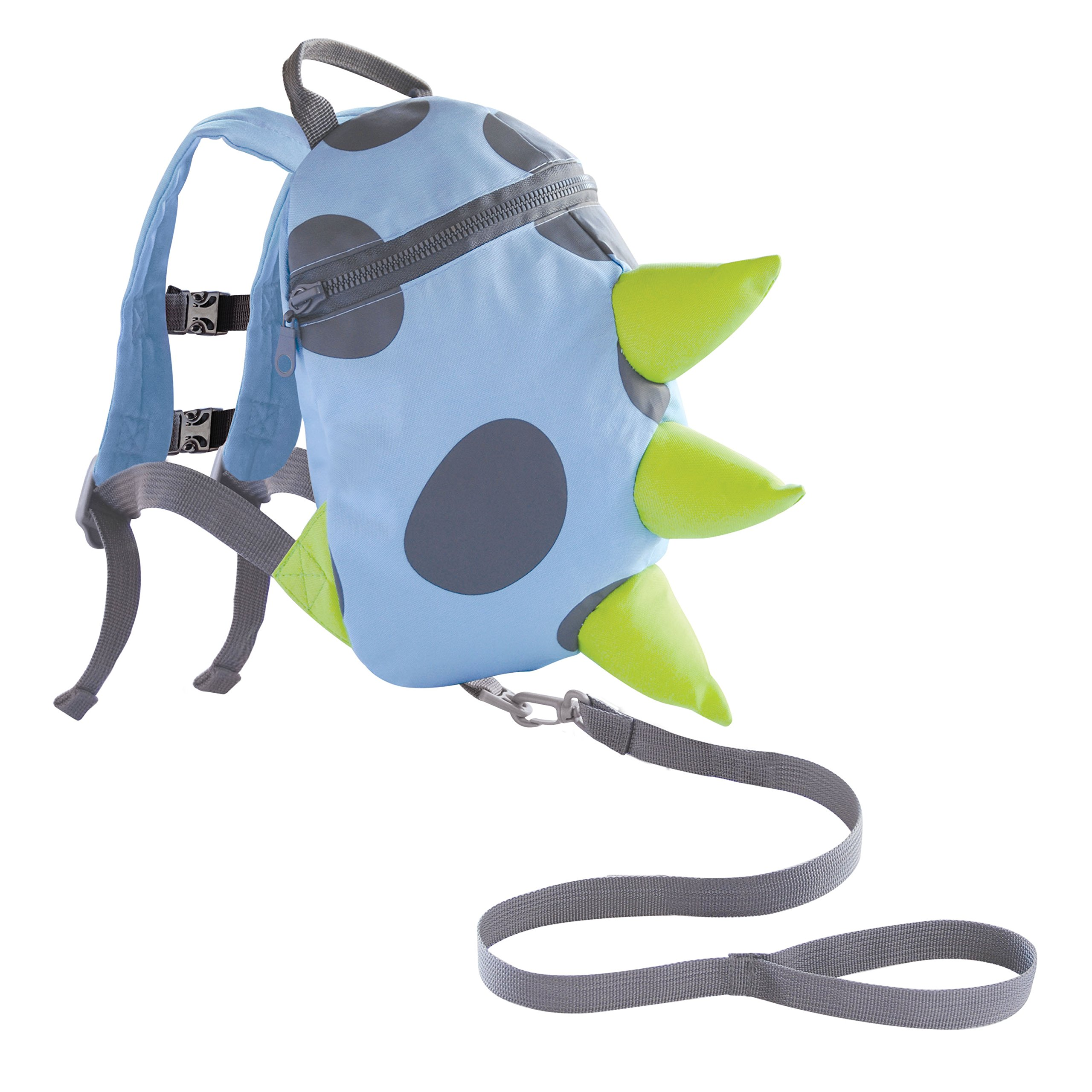 Toddler Harness Backpack Dino- Blue, Green, Grey