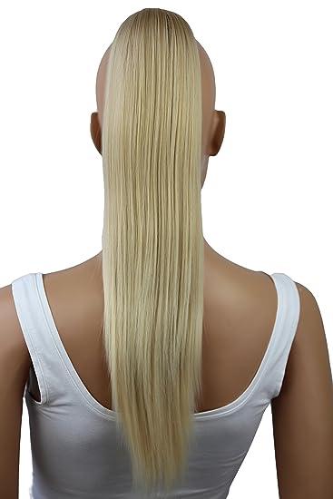 Prettyshop 50cm Haarteil Zopf Pferdeschwanz Glatt Haarverlängerung