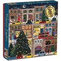 Winter Lights Foil Puzzle 500 Piece Puzzle