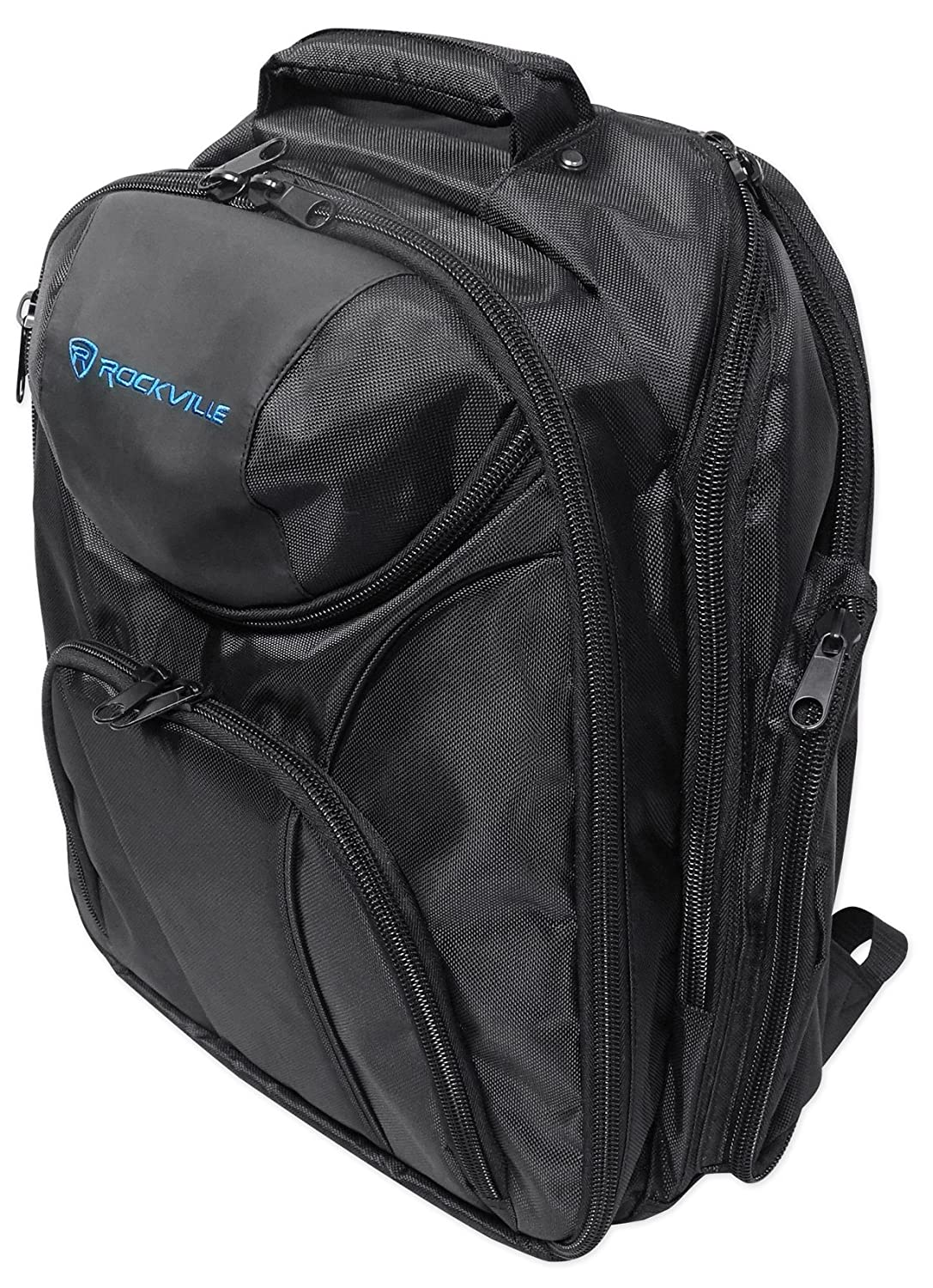 Rockville Travel Case Backpack Bag For Mackie PROFX12V2 Mixer RVBACKPACK PROFX12V2