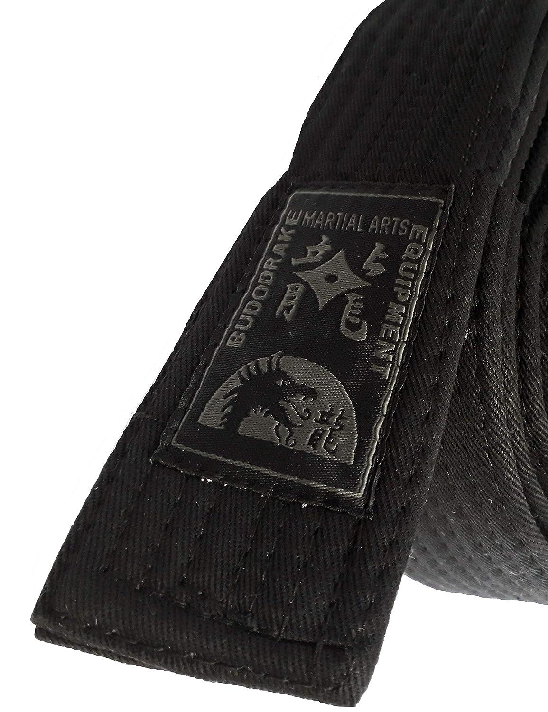 tejido mixto extra dick 5/cm de ancho Budo Drake Negro correa First Class