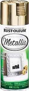 Rust-Oleum 1910830 Spray Paint, Each, Gold