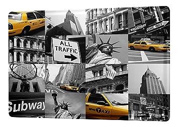 Amazon.com: Cartel de chapa Deco Ciudad Taxi de Nueva York 8 ...