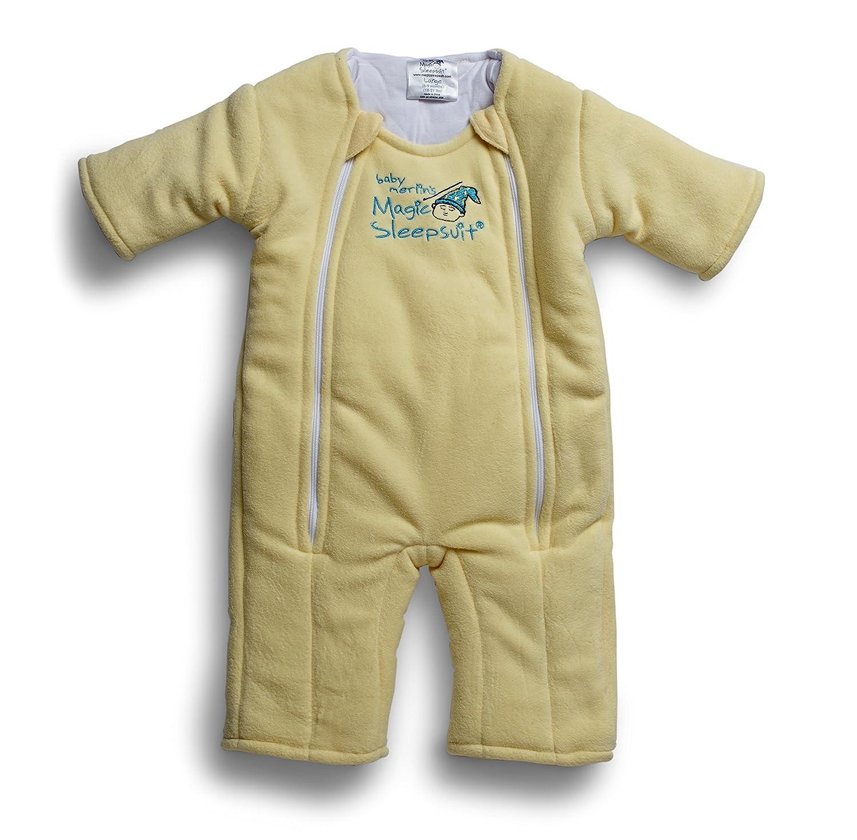 Baby Merlin's Magic Sleepsuit Microfleece (3-6 Months (12-18 lbs.), Yellow)