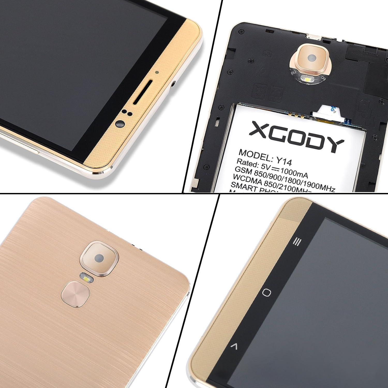 Smartphone 3G Desbloqueado, Xgody Y14 6 Pulgadas Android 5.1 Dual ...