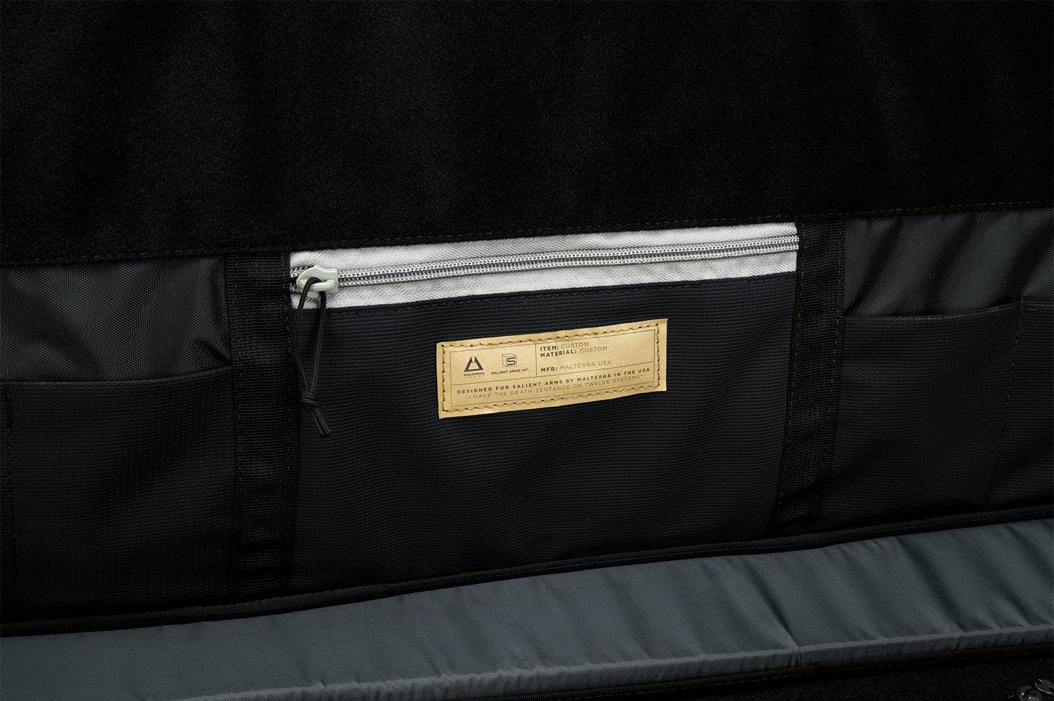 Evike Salient Arms International x Malterra Tactical Rifle Bag - Grey - (60930) by Evike (Image #6)