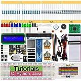 Freenove Super Starter Kit for Raspberry Pi 4 B 3 B+ 400, 285-Page Detailed Tutorials, Python C Java Code, 164 Items, 38…