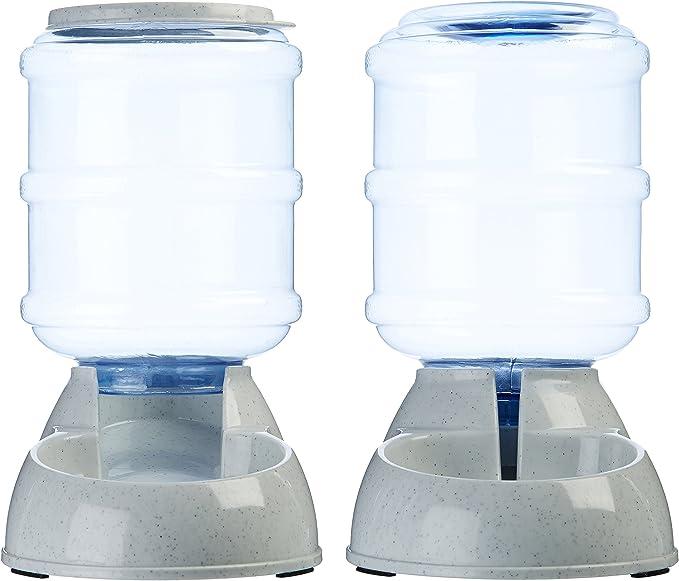 AmazonBasics - Dispensador de agua y comida, Pequeño