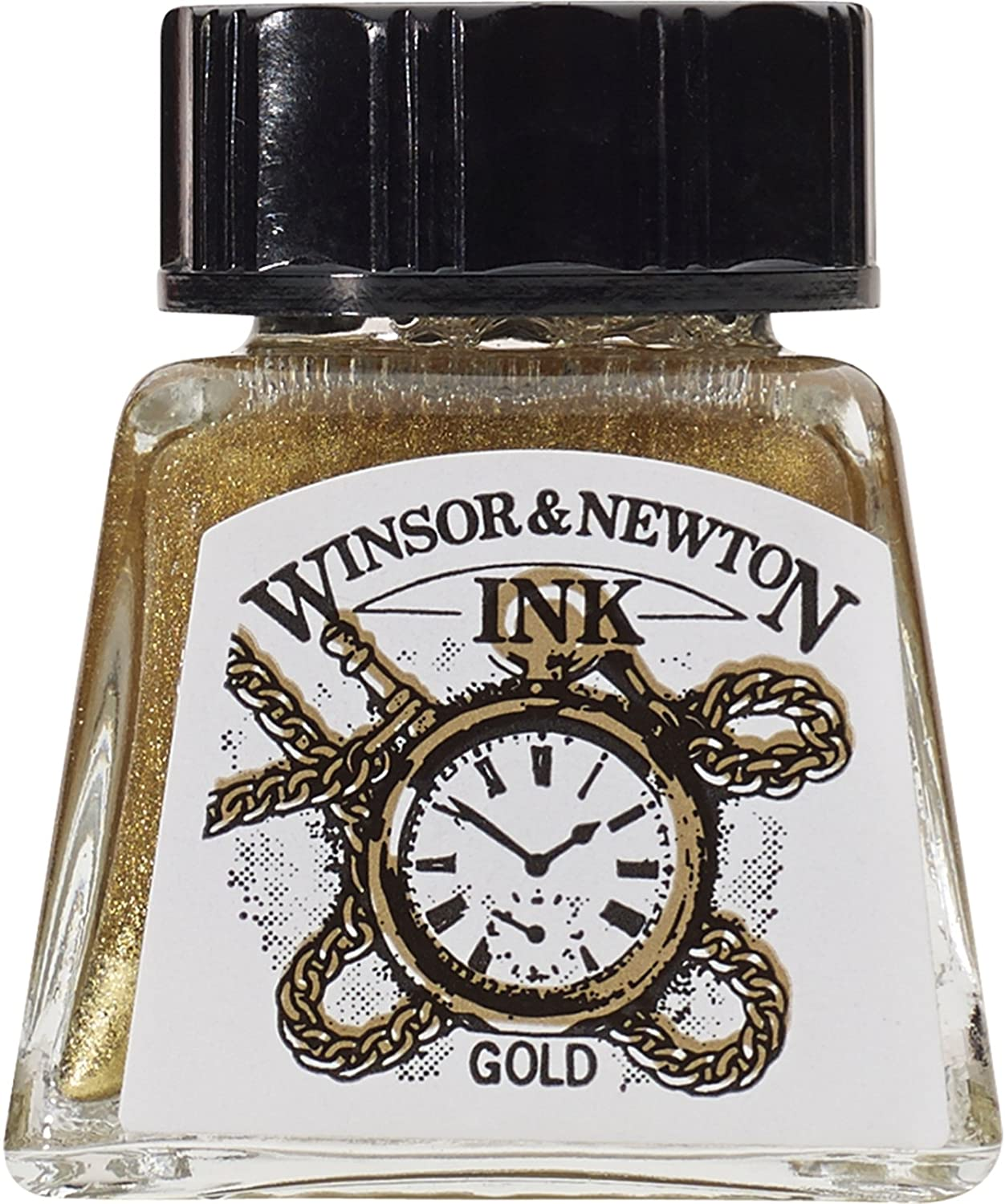Winsor & Newton Drawing Ink Bottle, 14ml, Gold