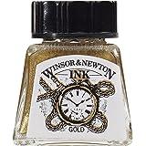 Winsor & Newton 14ml Drawing Ink Bottle - Gold
