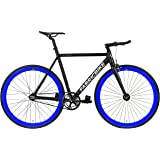 FabricBike Light - Bicicleta Fixed, Fixie, Single Speed, Cuadro y Horquilla Aluminio,