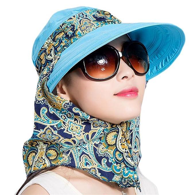 467e848f5d2 Miki Da Sun Hats Summer Hats for Women Beach Hat Sun Visor Hat Visor ...