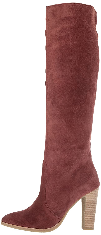 Dolce Vita Women's Celine Knee High Boot B072QC2F7G 10 B(M) US Brick Suede