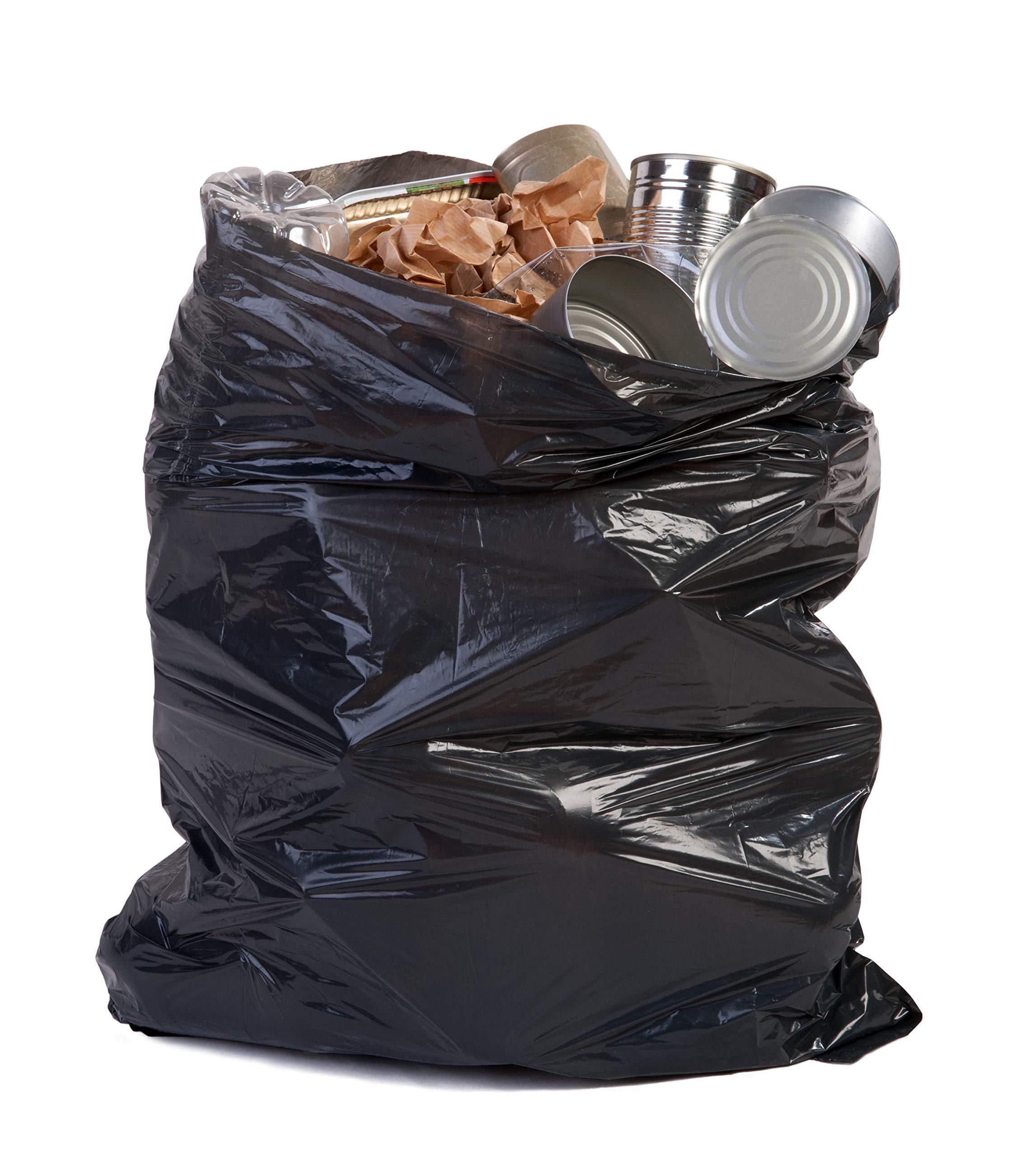 Toughbag 95 Gal Trash bags, Black, 2 Mil, 61x68, 25 Garbage Bags Per Case by ToughBag (Image #3)