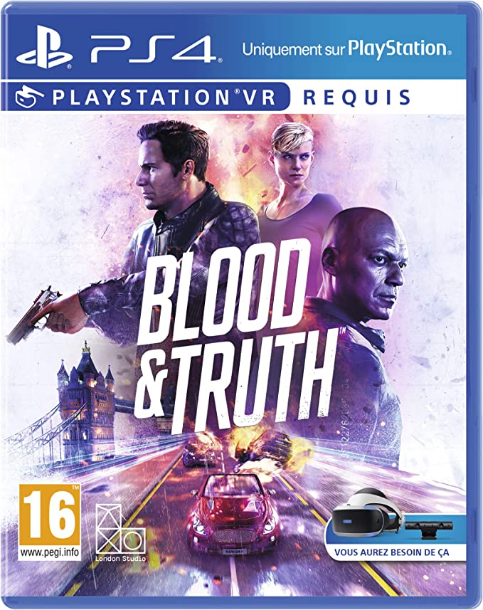 Blood and Truth PS VR - PlayStation 4 [Importación francesa ...