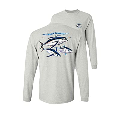 Angler Wear Tuna Mens Black T-Shirt  NEW L XL 2XL