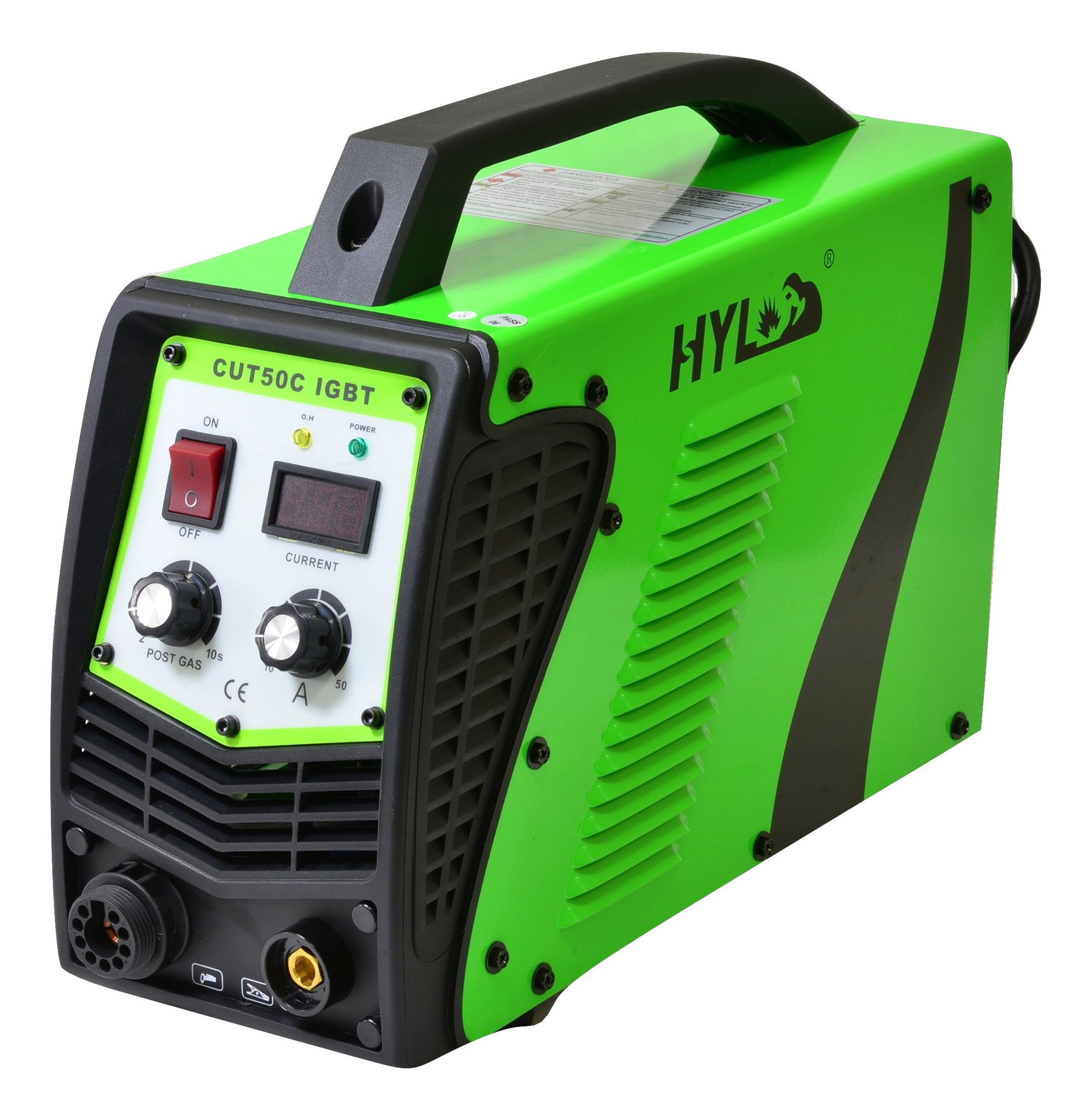 HYL CUT50C Plasma Cutter - 2YR USA WARRANTY WITH USA BASED PARTS AND SERVICE … by HYL