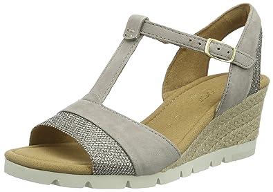 Shoe Tree Comfort Sandales pour Femme - Gris - Grey 2, 42
