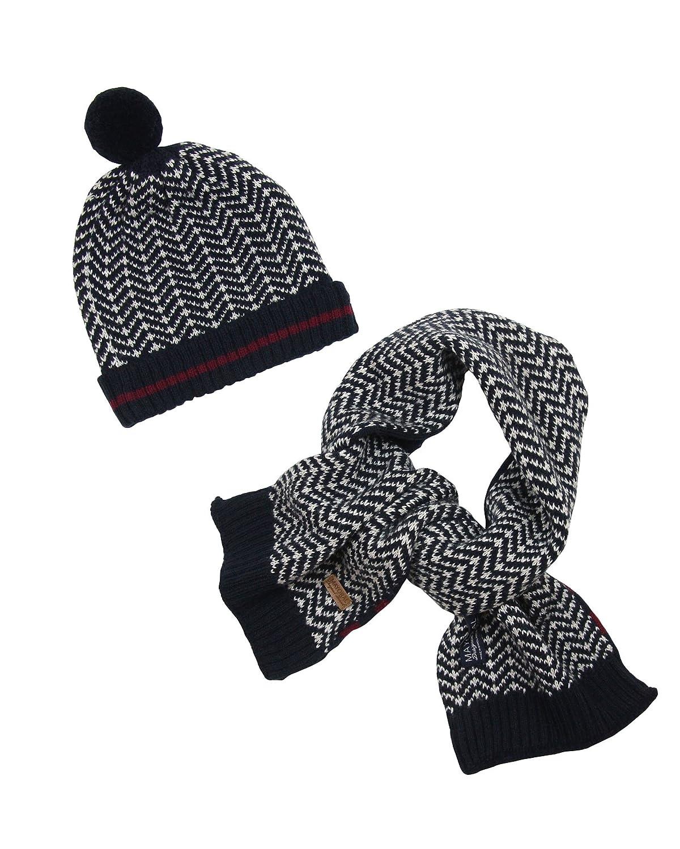 Mayoral Boy's Navy Hat and Scarf Set, Sizes 2-9 Sizes 2-9 - 6-9