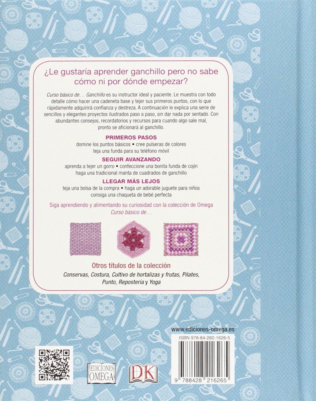 Curso basico de-- ganchillo [Spanish]: EDICIONES OMEGA ...