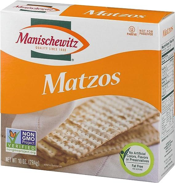 Manischewitz unsalted matzo