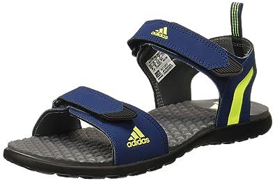 Adidas Men s Mobe Mysblu Syello Visgre Sandals-12 UK India (47 1 3 ... 9dbdd13e2