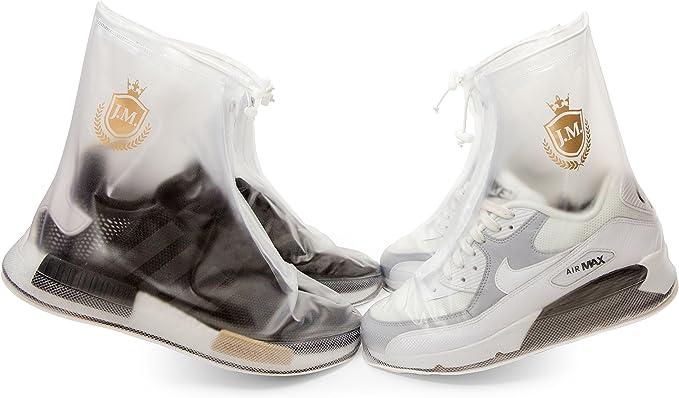 Waterproof Shoe Covers | Reusable | Men Women Kids | Slip Resistant Rain Shoe Covers